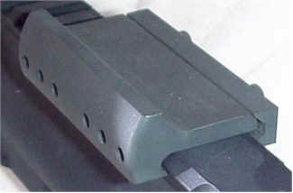 Space Gun Rear Sight Base for Flat Top